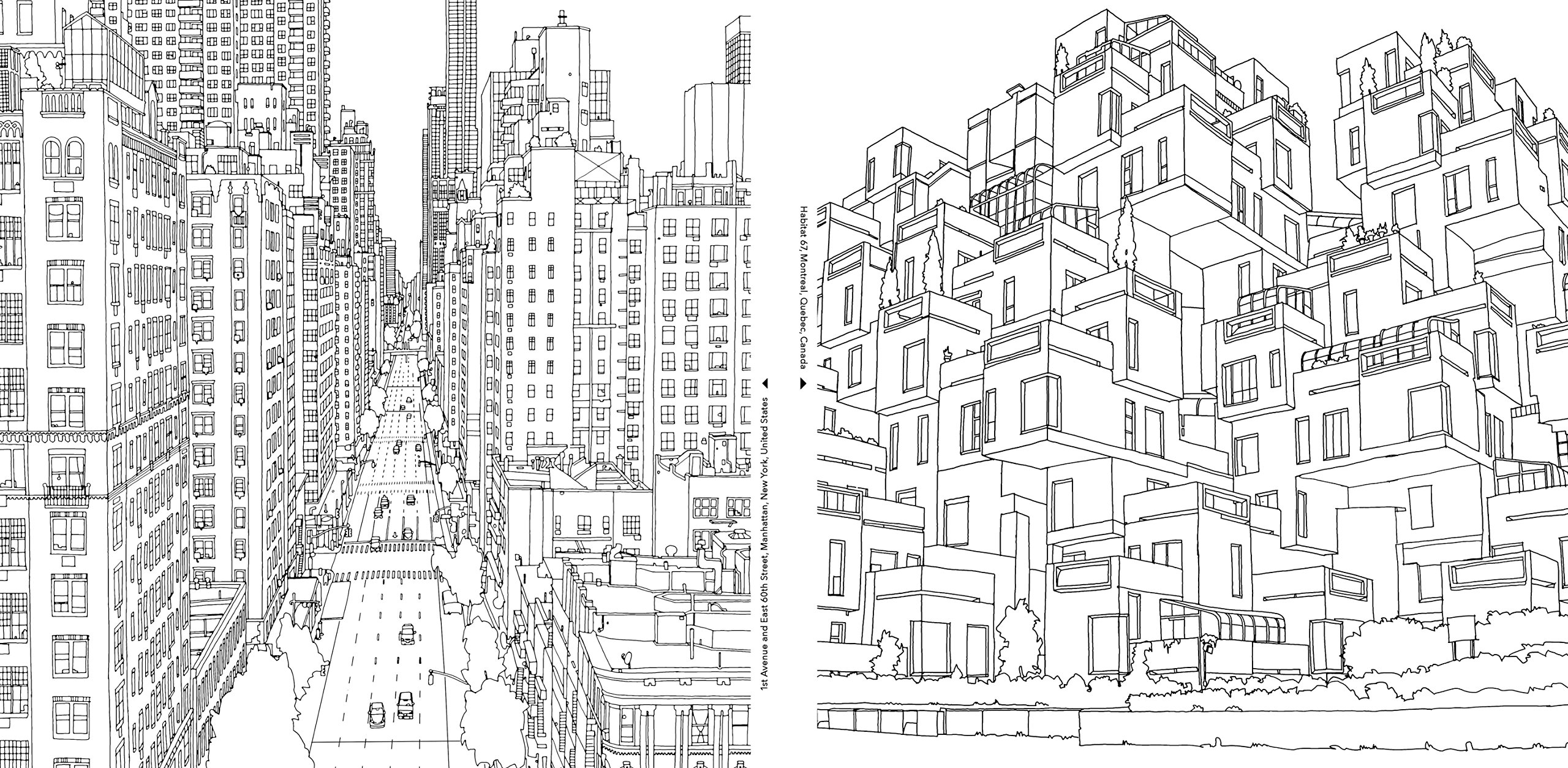 City coloring #17, Download drawings