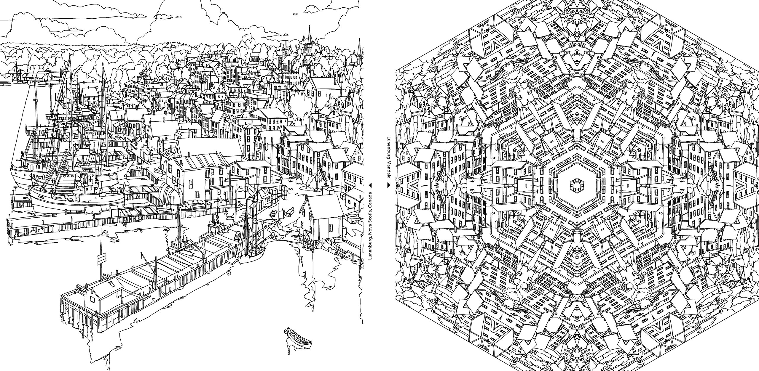 City coloring #10, Download drawings