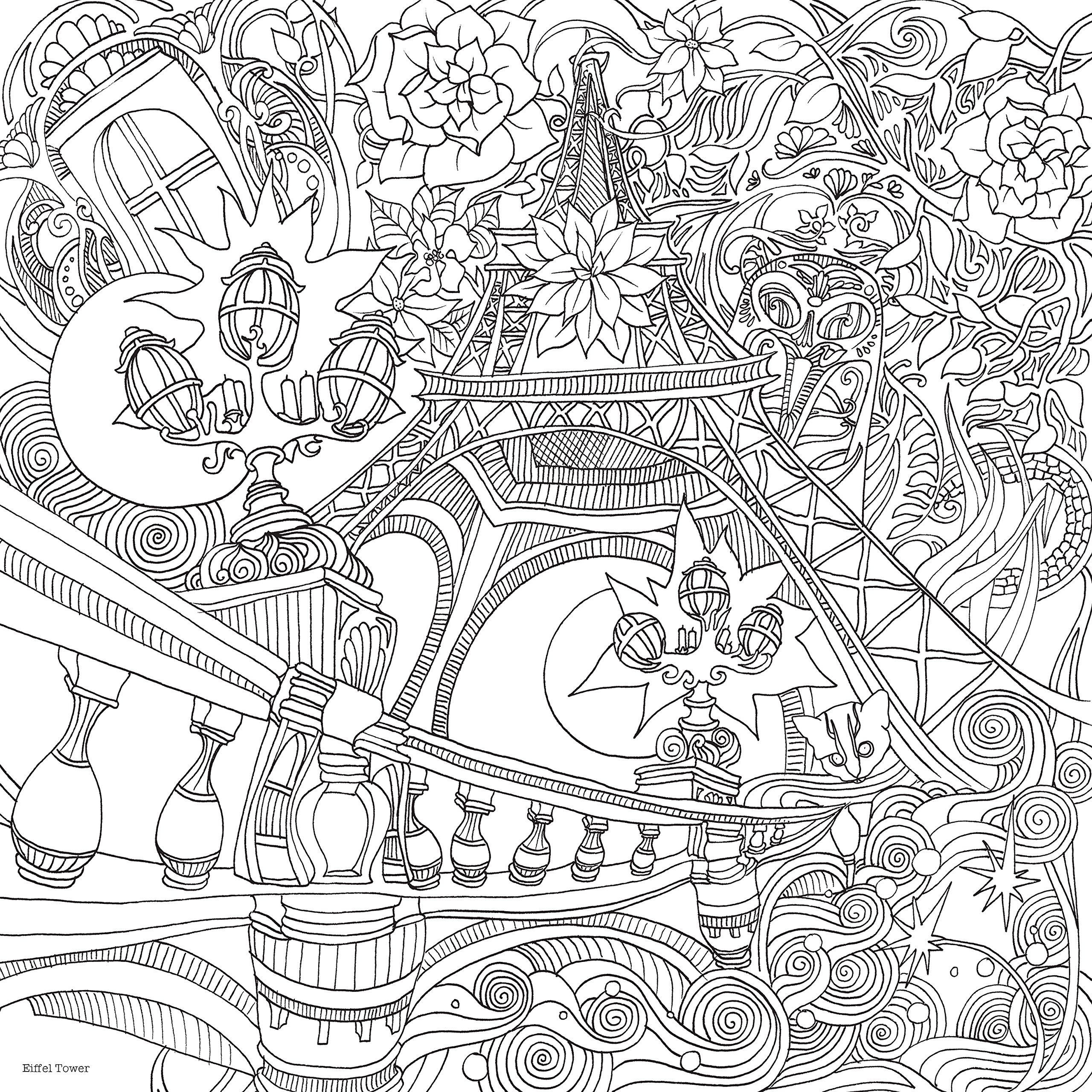 City coloring #2, Download drawings