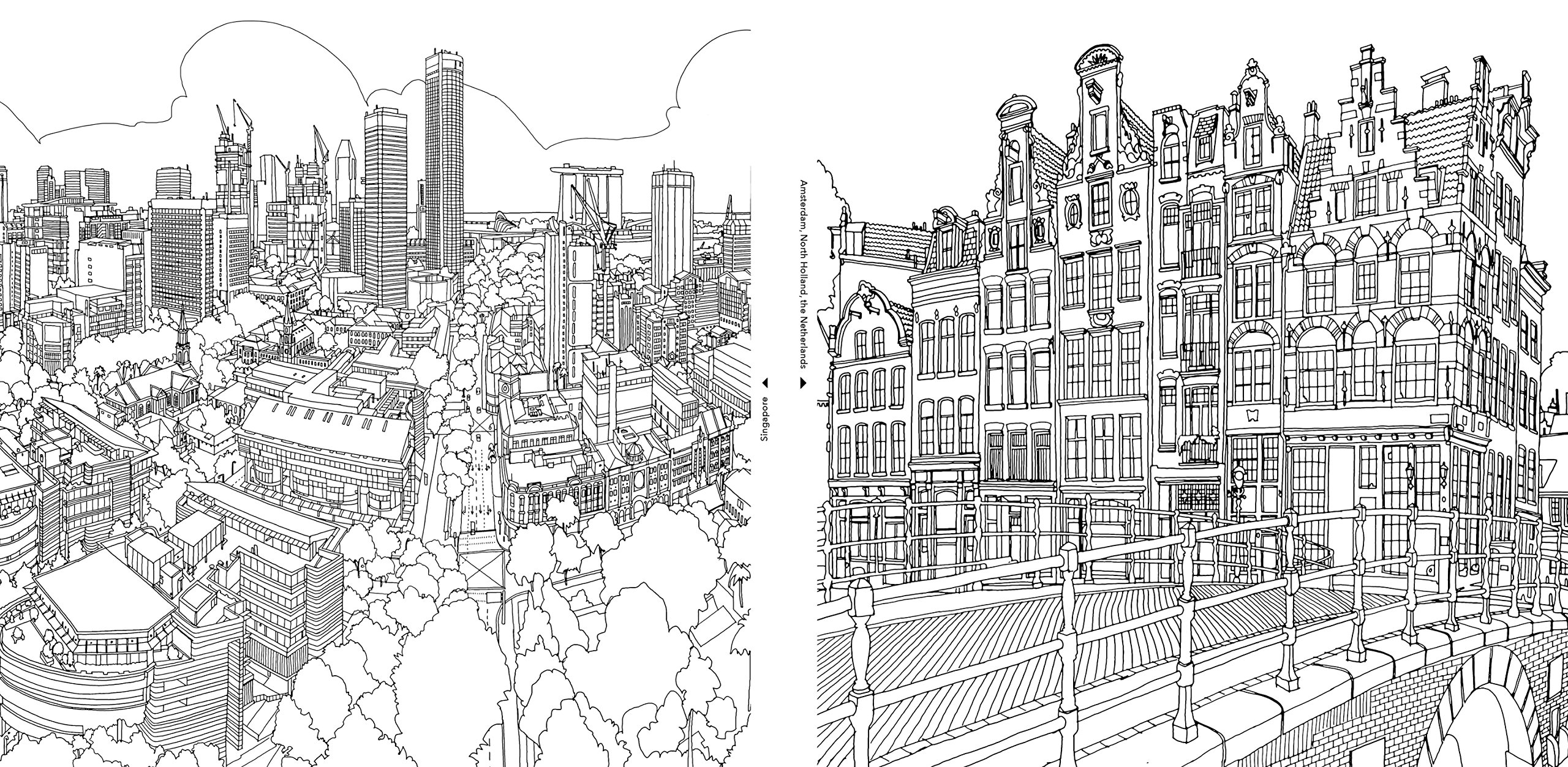 City coloring #19, Download drawings