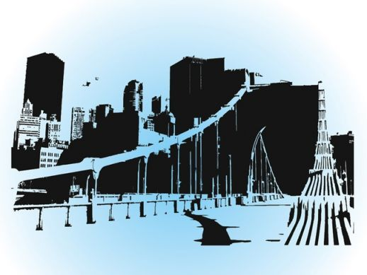 City svg #11, Download drawings