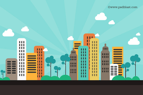 Cityscape clipart #6, Download drawings