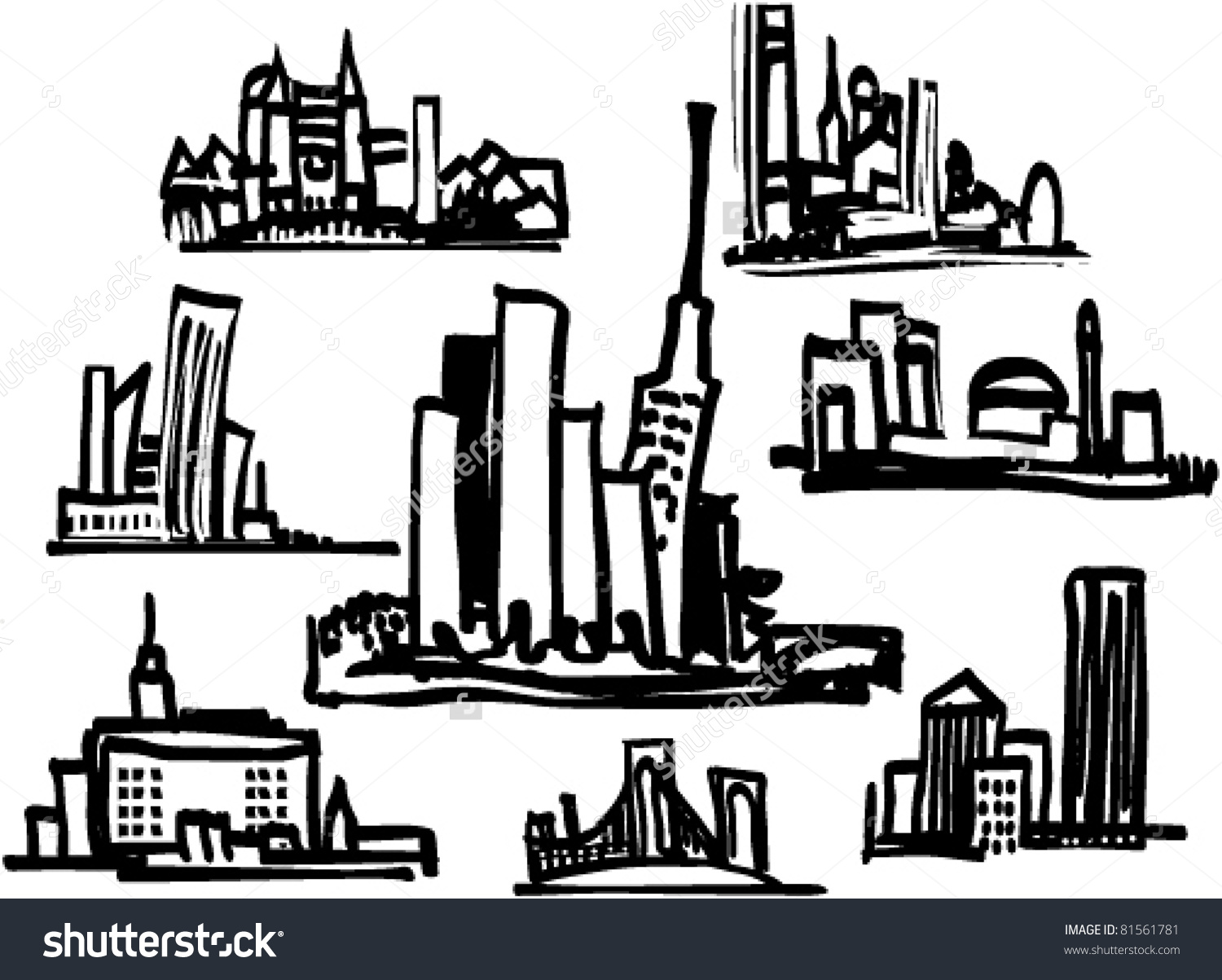Cityscape clipart #7, Download drawings