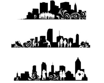 Cityscape svg #13, Download drawings