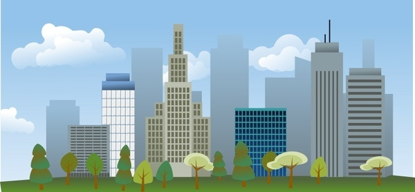 Cityscape svg #14, Download drawings