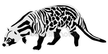 Civet clipart #4, Download drawings