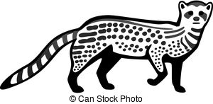 Civet clipart #19, Download drawings