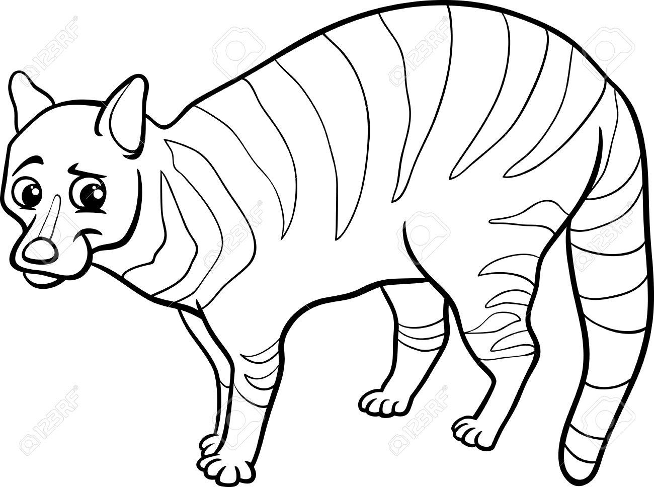 Civet coloring #20, Download drawings