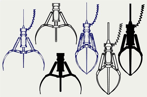 Claw svg #5, Download drawings