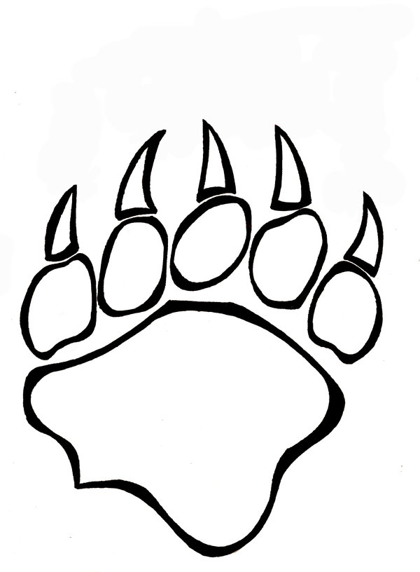 Claw coloring #14, Download drawings