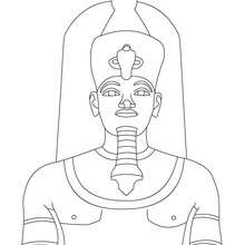 Cleopatra coloring #6, Download drawings