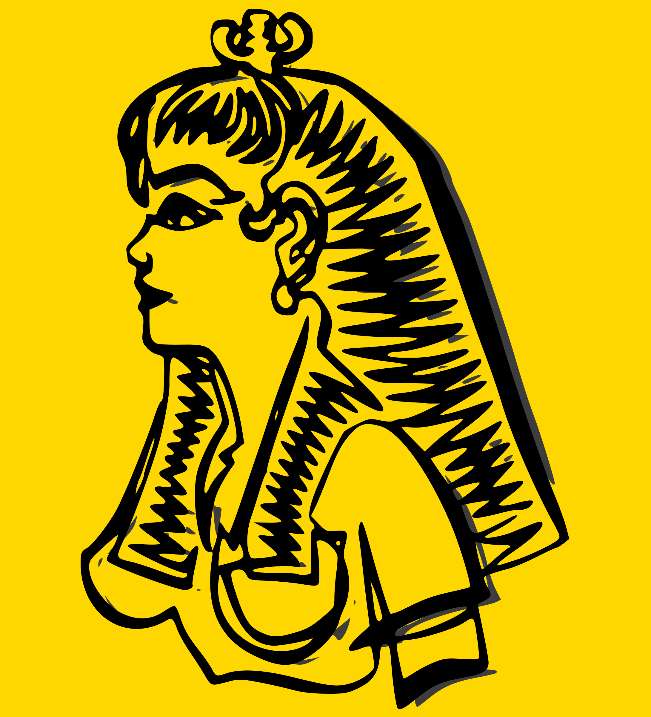Cleopatra svg #18, Download drawings