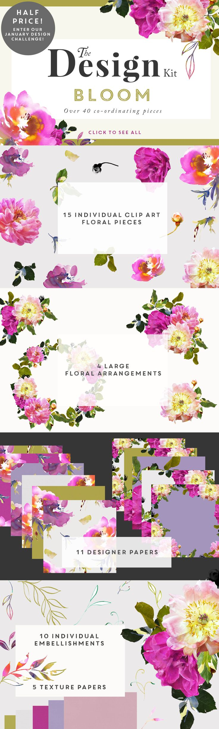 Click N Bloom clipart #2, Download drawings