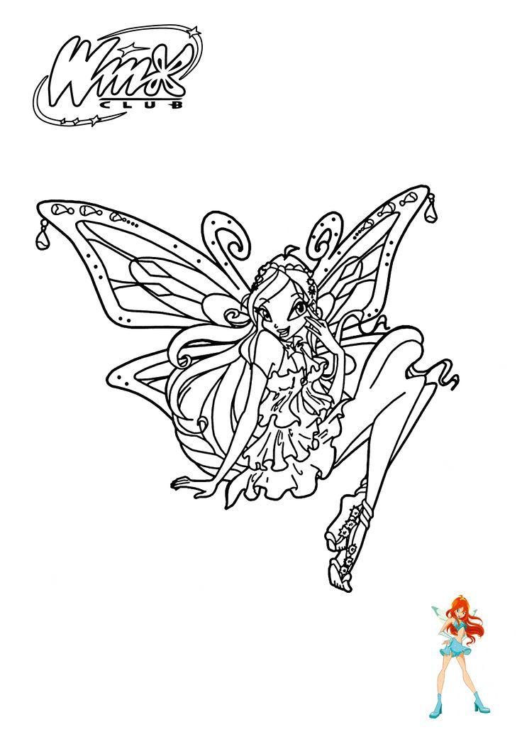 Click N Bloom coloring #10, Download drawings