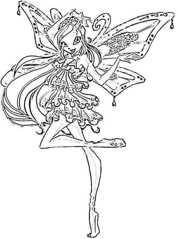 Click N Bloom coloring #8, Download drawings