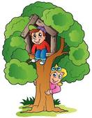 Climbing Tree clipart #10, Download drawings