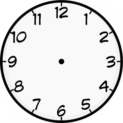 Clock clipart #14, Download drawings