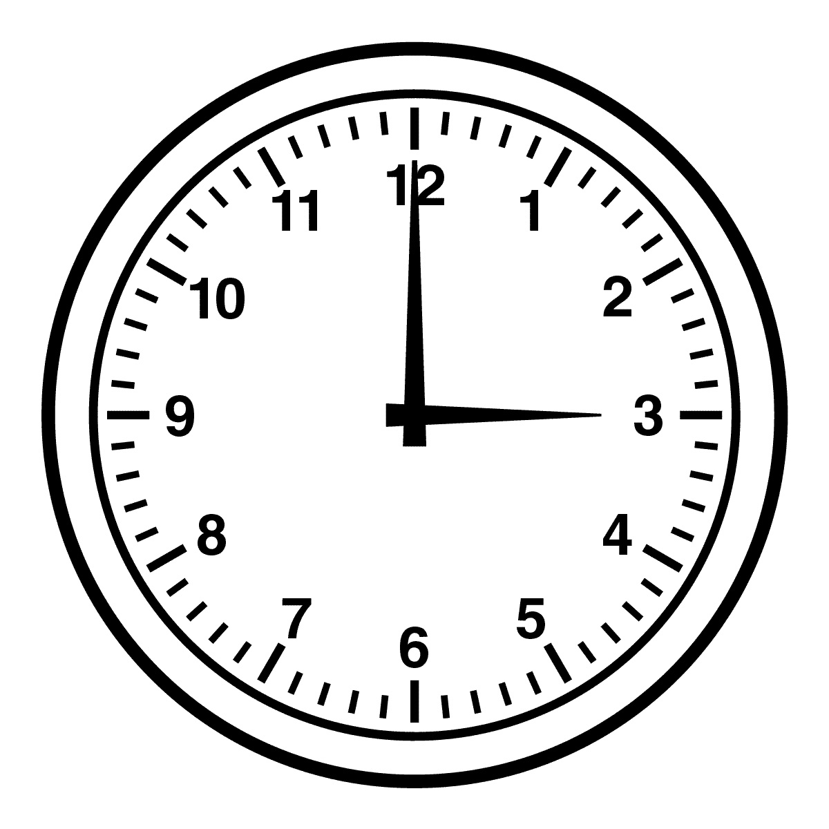 Clock clipart #1, Download drawings