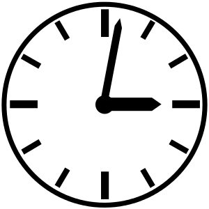 Clock svg #39, Download drawings