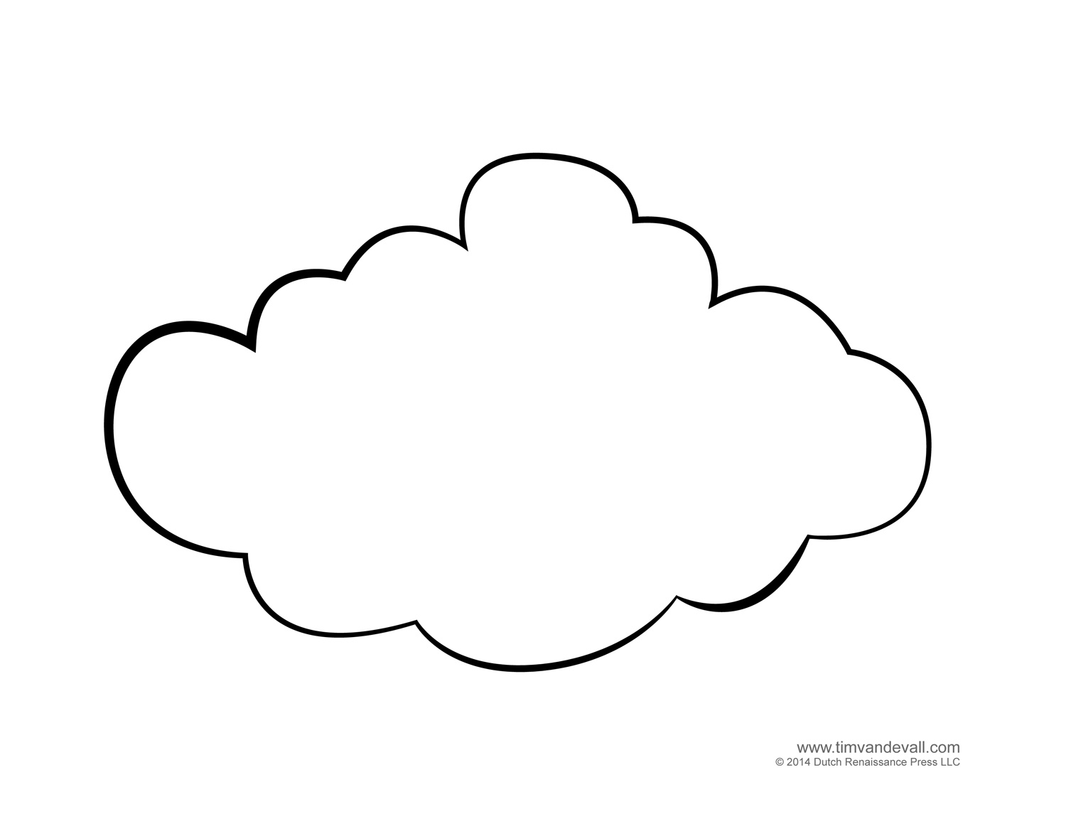 White Cloud coloring #16, Download drawings
