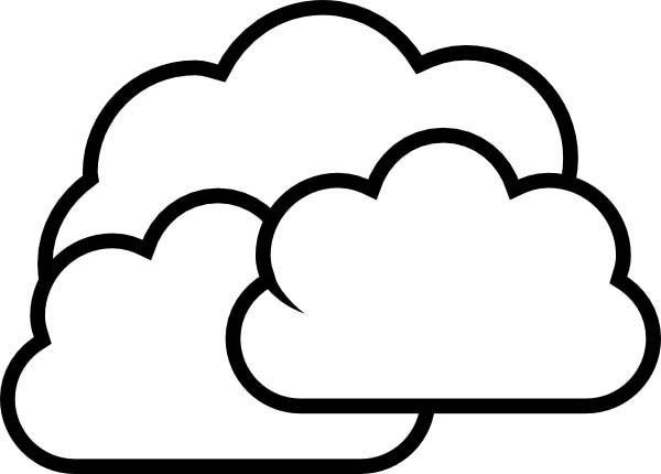 White Cloud coloring #8, Download drawings
