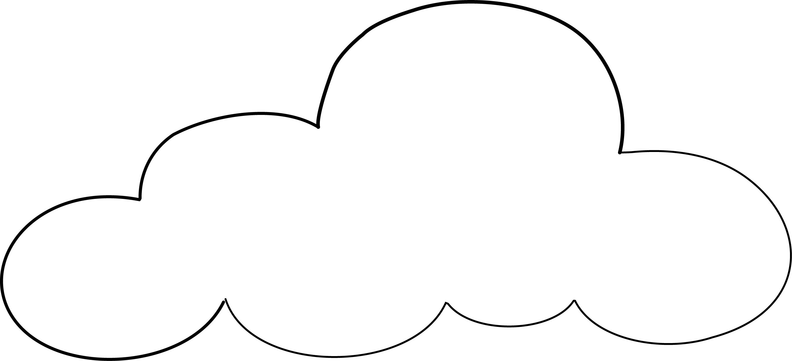 White Cloud coloring #9, Download drawings