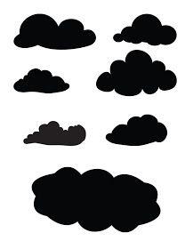 Cloud svg #1, Download drawings