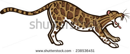 Clouded Leopard  clipart #7, Download drawings
