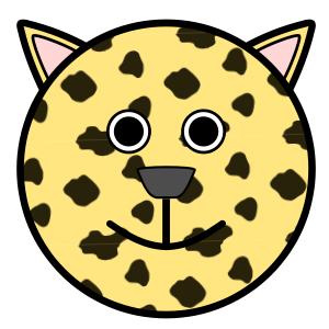 Clouded Leopard  svg #13, Download drawings