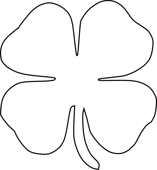 Clover svg #3, Download drawings