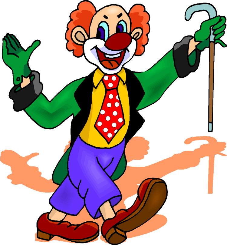 Clown clipart #1, Download drawings