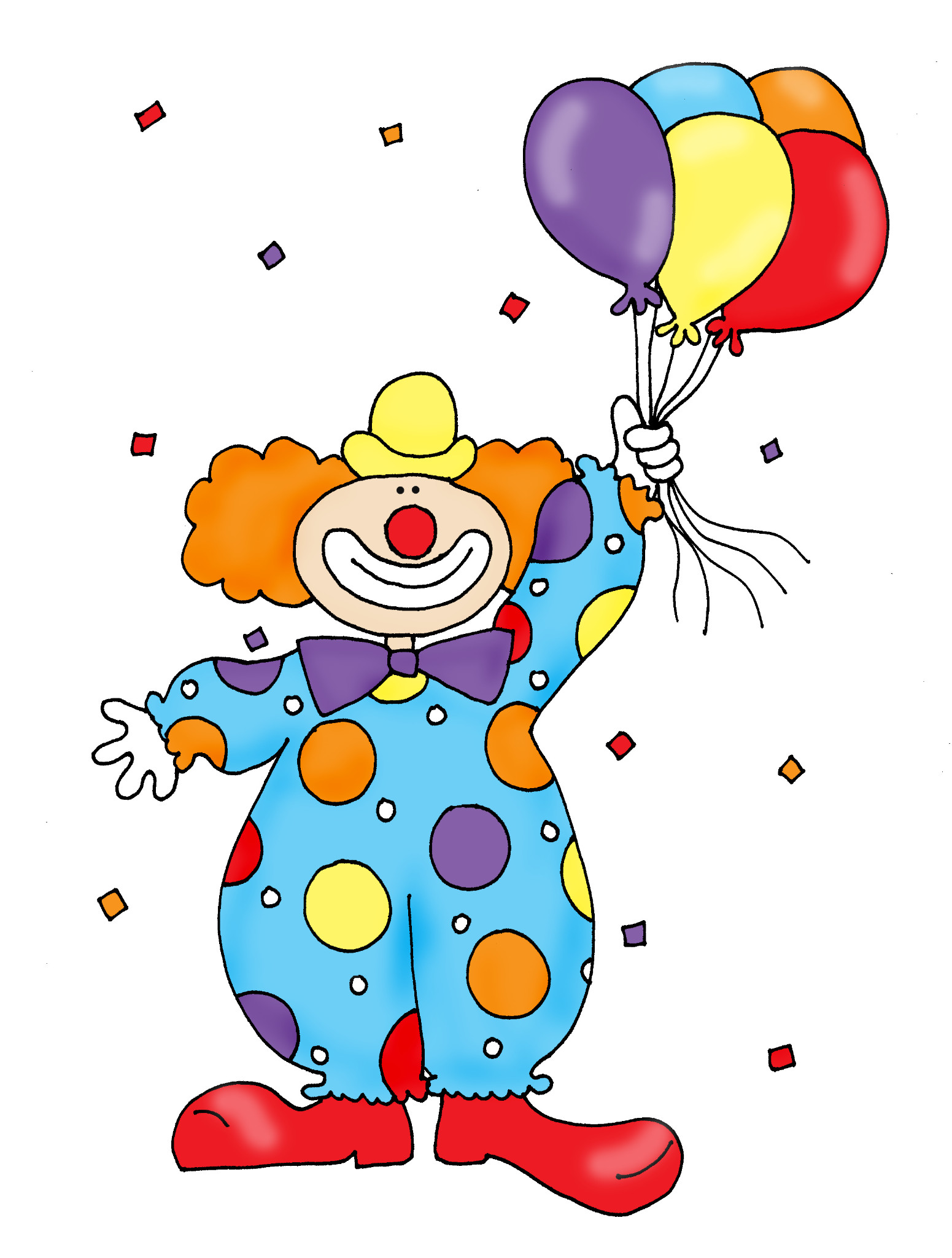 Clown clipart #3, Download drawings