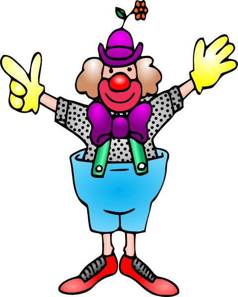 Clown clipart #4, Download drawings