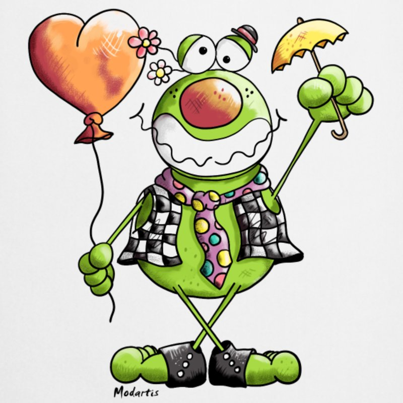 Clown Frog clipart #1, Download drawings