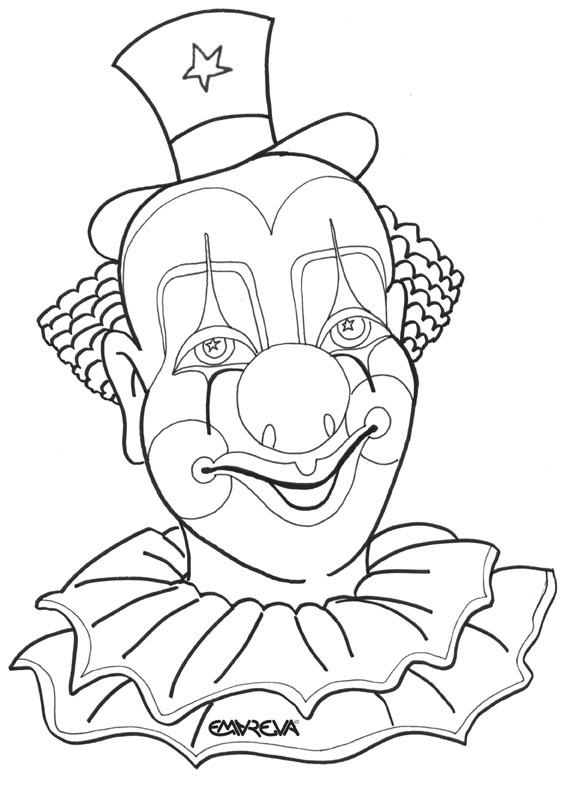 Clown Frog coloring #8, Download drawings