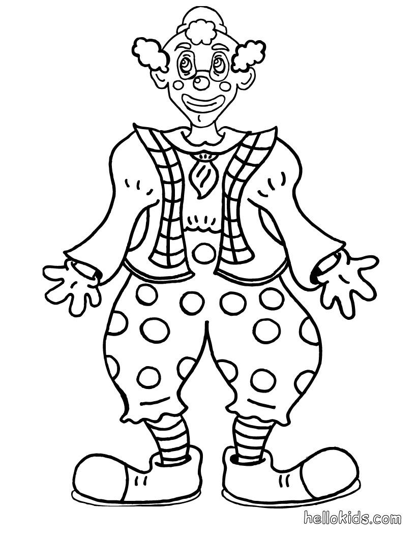 Clown Frog coloring #6, Download drawings