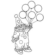 Clown Frog coloring #10, Download drawings