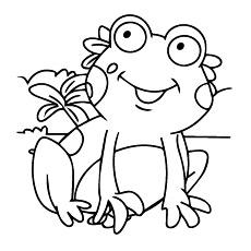 Clown Frog coloring #3, Download drawings