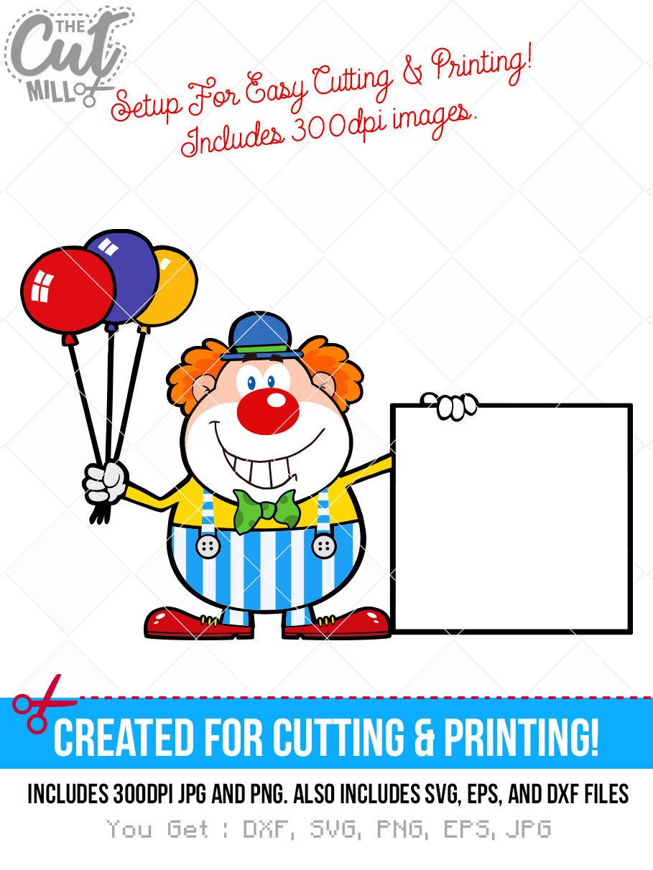Clown Frog svg #15, Download drawings