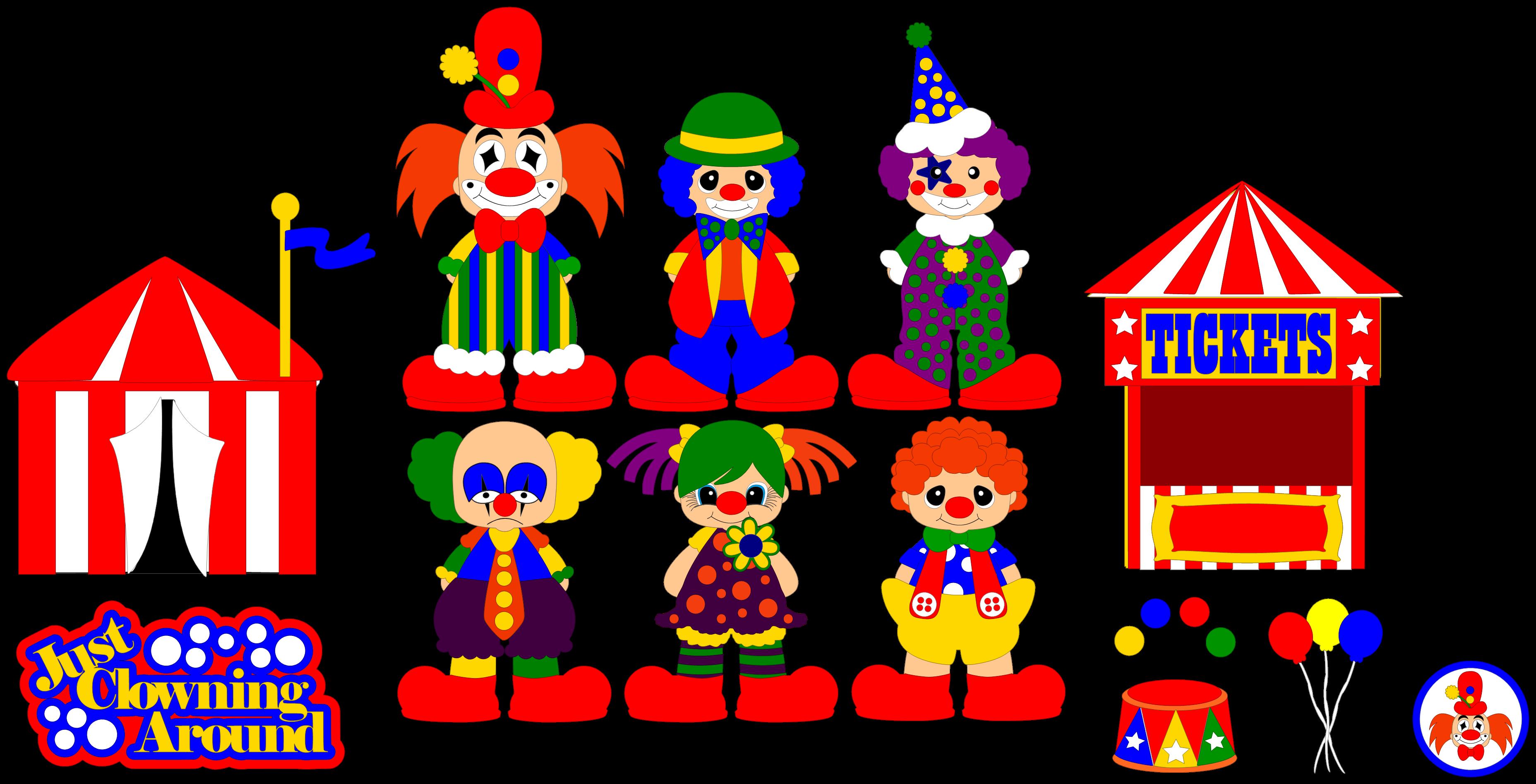 Clown svg #3, Download drawings