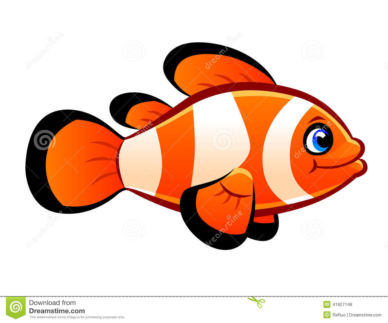 Clownfish clipart #12, Download drawings