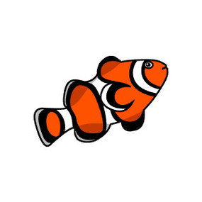 Clownfish clipart #5, Download drawings