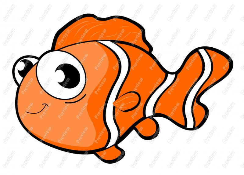 Clownfish clipart #10, Download drawings
