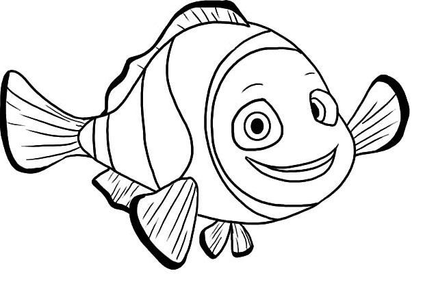 Clownfish coloring #16, Download drawings