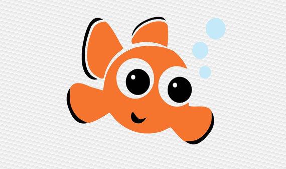 Clownfish svg #6, Download drawings
