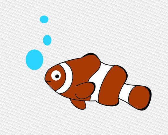 Clownfish svg #7, Download drawings
