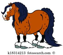 Clydesdale clipart #20, Download drawings