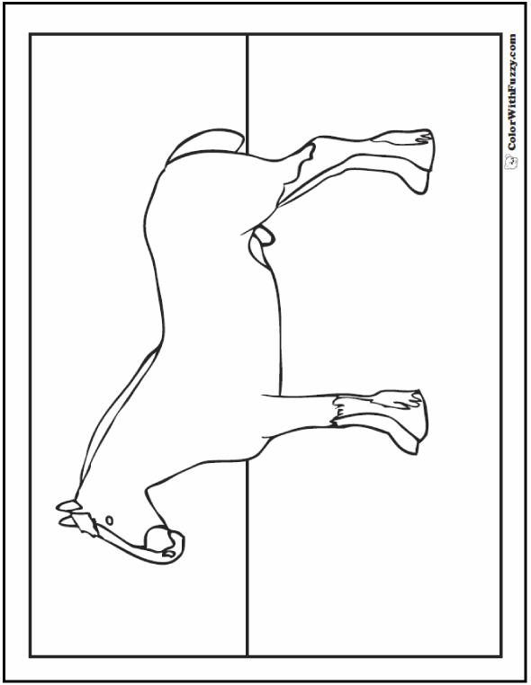 Clydesdale coloring #13, Download drawings