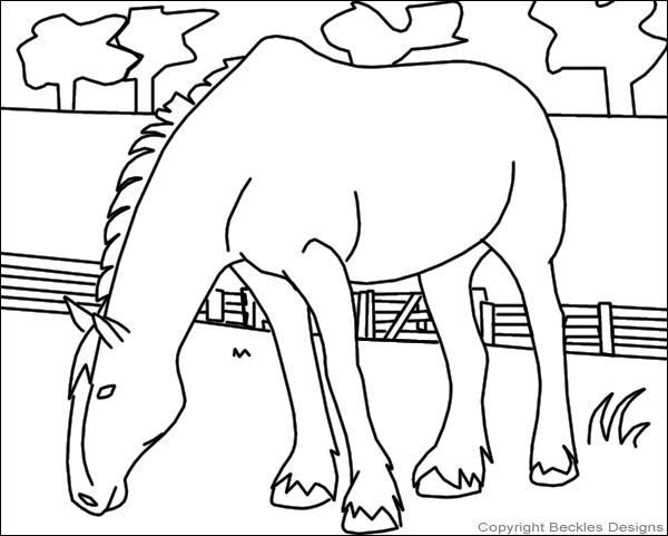 Clydesdale coloring #6, Download drawings