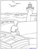 Coast coloring #9, Download drawings